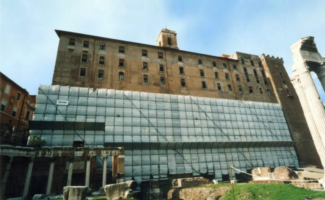 Palazzo Sanatorio del Tabularium e Tempio di Veiove