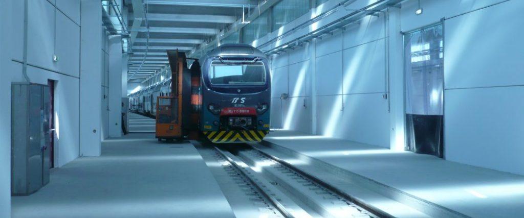 Impianto lavaggio treni Novate