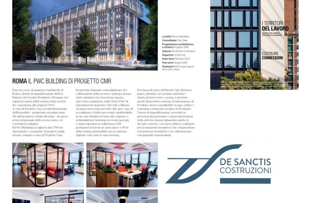 La De Sanctis Costruzioni è su ioArch, il magazine dei progettisti italiani!