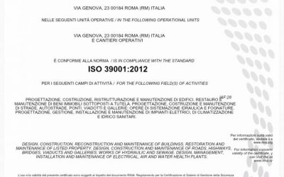ISO 39001 – Sicurezza Stradale